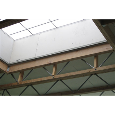 Image for Radius Pitched Profile Open-Web Trusses, Red-S™