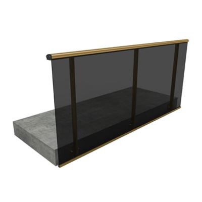Image for Aluminium railing series 155 / model AL.07