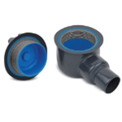 """Image for Dark Gray PVC Coated GUA Conduit Outlet Box, 1/2"""", 3/4"""", 1"""", 1-1/4"""" or 2"""", Ductile Iron, Zinc Plated"""