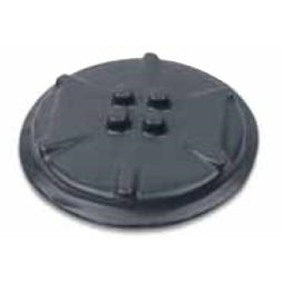 """Image for Hazardous Location Surface Covers for External Hubs with 3.69"""" or 5.91"""" Cover Openings, Coated in Blue, Gray or White PVC"""