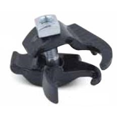 """Image for Edge Beam Clamps for 0.5"""" to 2"""" Trade Size Conduits, Coated in Blue, Gray or White PVC"""