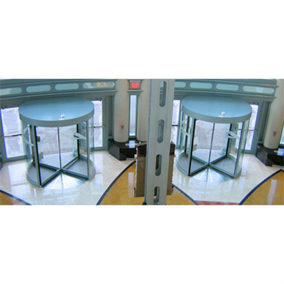 Image for 3500 All Glass Three and Four Wing Manual Revolving Door