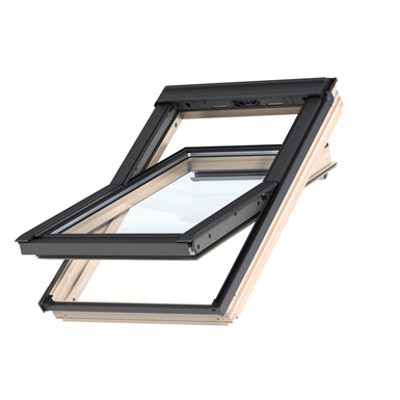 Image for Top Operated Std+ Pinewood roof window Centre-pivot - GLL 1061