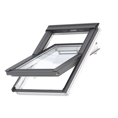 Image for Top Operated Pinewood roof window Centre-pivot - GGL