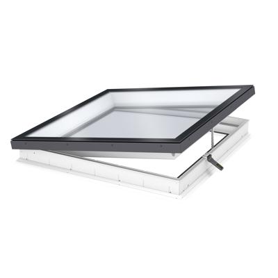 Image for Electrically vented glass rooflight w. Flat glass CVU ISU2093
