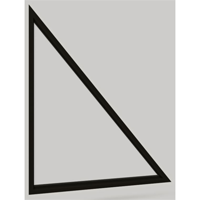 Image for Modern Direct Glaze Right Triangle Window