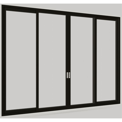 Image pour Modern Multi-Slide Stacked Door Bi-Parting