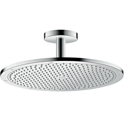 kuva kohteelle AXOR ShowerSolutions Overhead shower 350 1jet with ceiling connection 26035000