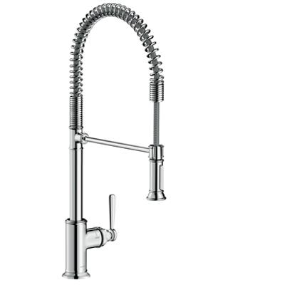 AXOR Montreux Single lever kitchen mixer 210 Semi-Pro 16582000图像