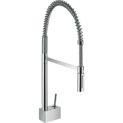 Image pour Axor Starck 2-Spray Semi-Pro Kitchen Faucet 10820001