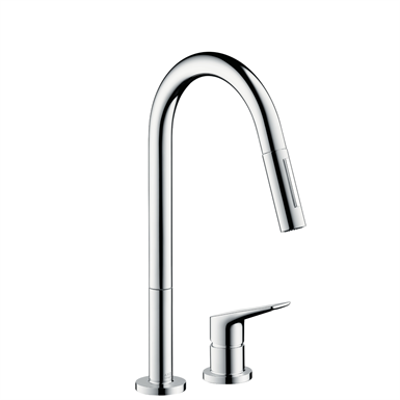 Image for Axor Citterio M 2-Hole Kitchen Faucet, Pull-Down 34822001