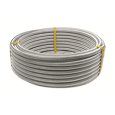 Image for CORRUGATED stainless steel TUBE DN12-50