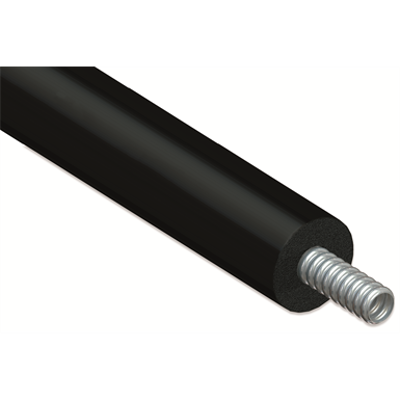 Image for Single CORRUGATED stainless steel tube DN12-25 with EPDM insulation for thermal solar installation without cable