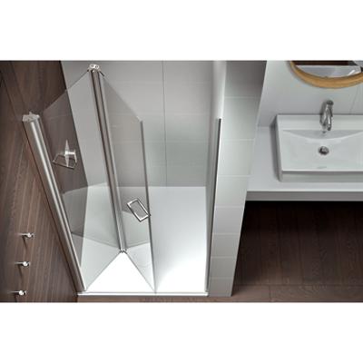 Image for Plus Evolution Giro - Bi-fold and slider twin doors for shower