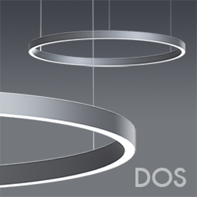 Image pour DOS CIRCULAR DIRECT/INDIRECT WHITE LED WITH OPAL ACRYLIC LENS