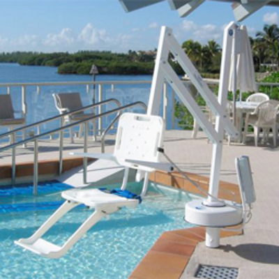 Image for SPLASH! Pool Lift, 359 deg Rotation
