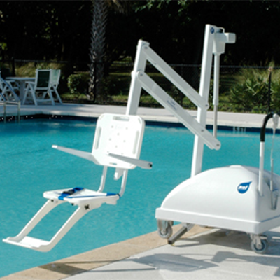 Image for PAL Pool Lift, Portable, 300 lb Lifting Capacity, 240 deg Rotation