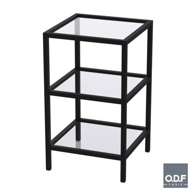 Image for Mobile side-table 3 shelves Nautic