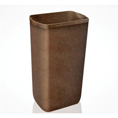 Image for 742 WOOD Waste paper bin + 744 Hidden-cover for art.742