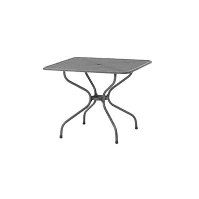 Image for ガーデンファニチャー スチール メタル スクエアテーブル 900 メタルワークフォーガーデン SSN-T01 32760700