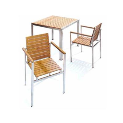 Image for ガーデンファニチャー 天然木 ライズ テーブル 900 チークスタイル TRD-156T 33890000