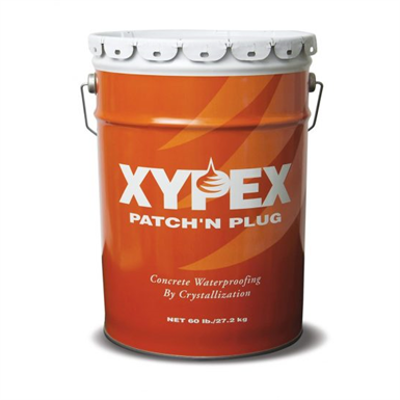 Image for Xypex Patch'n Plug - Crystalline Concrete Waterproofing Fast-Setting Hydraulic Cement Repair