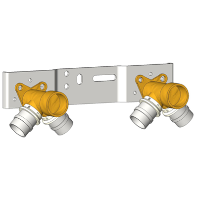 Image for MPL5769 Double Wall Fittings 90° Kit With AS1929
