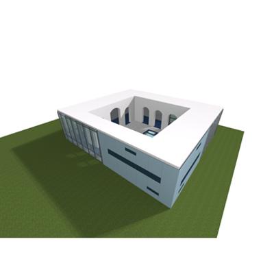 SPA building (Agrob Buchtal)图像