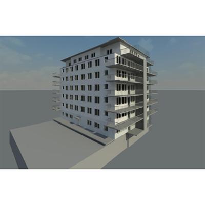 Image for Apartment building Revit 2014