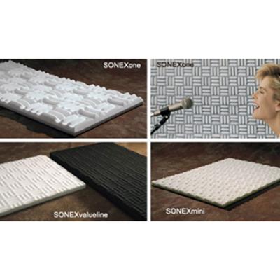 Image for SONEXvaluline™ - Melamine Foam Acoustical Baffles - Reduces Reflected Noise & Reverberation