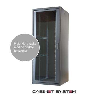 Image for SS Rack Solar plus Floor Rack Enclosure Cabinet.