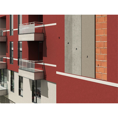 Image for Breathable render for newly built masonry for healthy and comfortable surroundings (external with lime-based products)