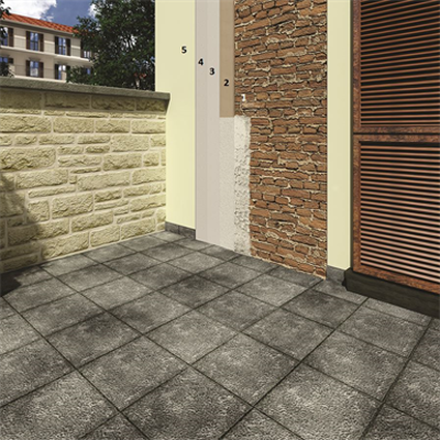 Image for Complete system for renovating masonry (lime-based breathable render)