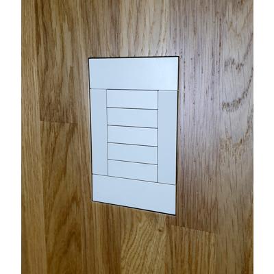 Image for Flush Solid Board mount for Crestron Horizon HZ-KPCN keypad