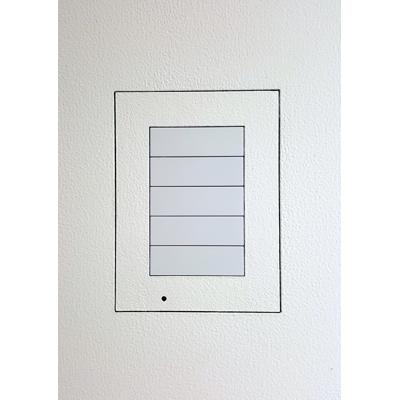 Image for Flush wall mount for Crestron Horizon HZ-KPCN keypad - Paintable