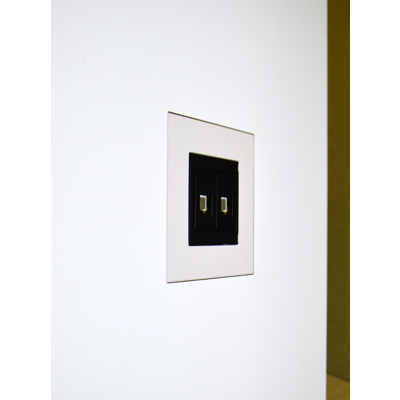 Image for Flush wall mount for T&J JC1401 LWH 1Gang faceplate and socket