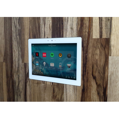 Image for Flush Solid Board mount for Control4 C4-T4IW8 touch screen
