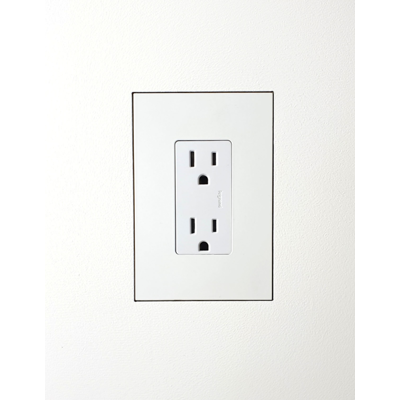 Image for Flush wall mount for Basalte 1Gang US Receptacle Accessory