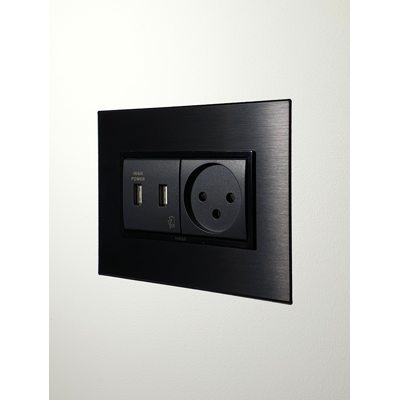 Image for Flush wall mount for VIMAR 4M Eikon EVO Plates and sockets