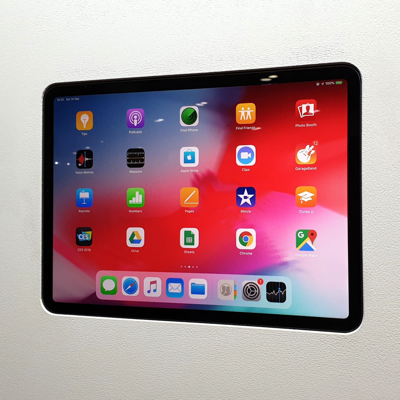 Image for Flush wall mount for iPad Air 4 - Without Grills