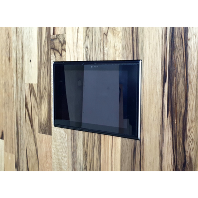 Image for Flush solid board mount for URC TKP-7600 touch screen