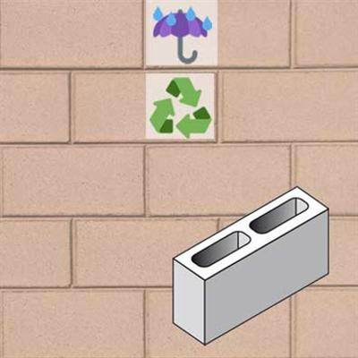 รูปภาพสำหรับ Architectural wall in concrete masonry unit ARCHETIPI 12