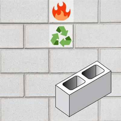 รูปภาพสำหรับ fire wall in concrete masonry unit TF15 EI120'