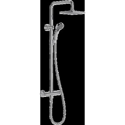 Image pour JULY -  Colonne de douche thermostatique et douche de tête carrée