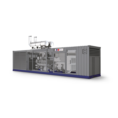 Image for Diesel Generator Container mtu- Series 4000 - 16V • 2560kVA • 50Hz-400V/60Hz-480V  • Prime & Standby Power
