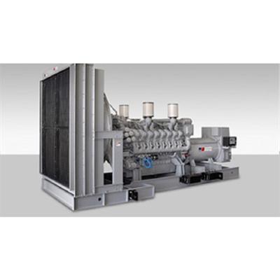 Image for Diesel Generator Set, mtu Series 4000 12V 1250-1750kWe, 60Hz, 380-13800V