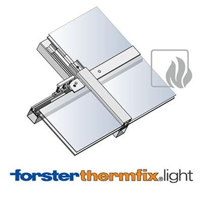 Image for Sloped glazing Forster thermfix light EI30