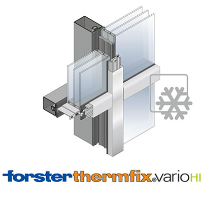 Image for Curtain wall Forster thermfix vario HI