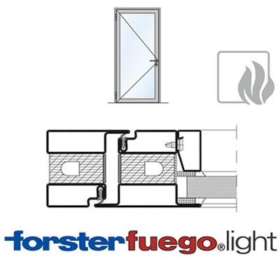Image for Door Forster fuego light EI30, single leaf