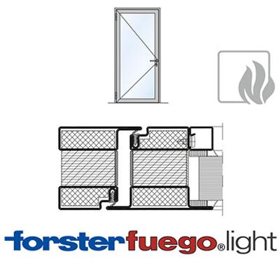 Image for Door Forster fuego light EI90, single leaf